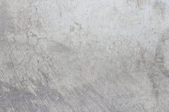 Textura velha suja branca do cimento do assoalho concreto foto de stock