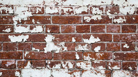 Textura velha vazia da parede de tijolo Foto de Stock