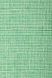 Textura verde áspera de la materia textil Foto de archivo