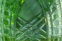 Textura verde cinzenta de uma parte de vidro sujo foto de stock