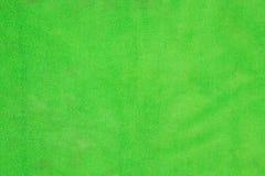 Textura verde clara del paño de la microfibra Fotografía de archivo libre de regalías