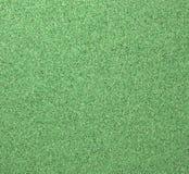Textura verde da placa da cortiça Fotografia de Stock