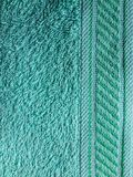 Textura verde da tela Foto de Stock Royalty Free