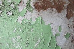 Textura verde danificada fotografia de stock