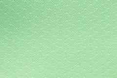 Textura verde de la estera de la yoga Imagen de archivo