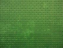 Textura verde de la hoja de metal Hola la resolución pintó el fondo de madera que mostraba toda la textura y grano Fotos de archivo libres de regalías