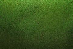 Textura verde de la materia textil Foto de archivo libre de regalías