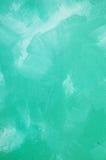 Textura verde de la pared Fotografía de archivo