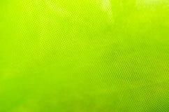 Textura verde de la tela Fotos de archivo