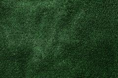 Textura verde de la tela Imagen de archivo