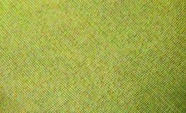 Textura verde de la tela fotografía de archivo