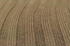 Textura verde de las lanas Foto de archivo libre de regalías