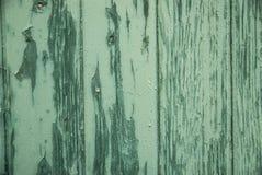 Textura verde de madera de la ventana antigua Foto de archivo