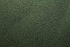 Textura verde de matéria têxtil Imagens de Stock