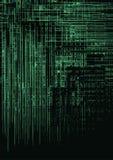 Textura verde de Techno Fotografía de archivo libre de regalías