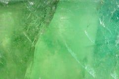 Textura verde del cuarzo Fotos de archivo