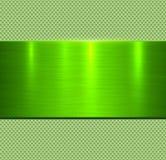 Textura verde del metal del fondo imágenes de archivo libres de regalías