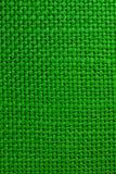 Textura verde del paño Fotografía de archivo libre de regalías