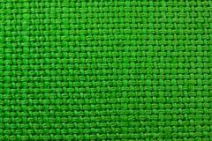 Textura verde del paño Imágenes de archivo libres de regalías