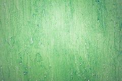 Textura verde do emplastro da parede do grunge do vintage do projeto Foto de Stock