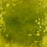 Textura verde do grunge Fotos de Stock