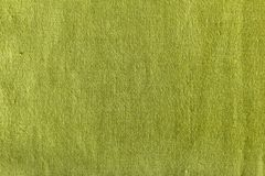 Textura verde do linho Imagens de Stock Royalty Free
