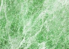 Textura verde do mármore ou da malaquite Foto de Stock
