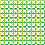 Textura verde do triângulo Imagens de Stock