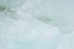 Textura verde grisácea del hielo Foto de archivo