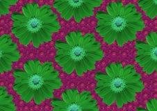 Textura verde rosada Fotografía de archivo libre de regalías