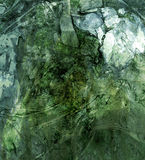 Textura verde suja Foto de Stock Royalty Free