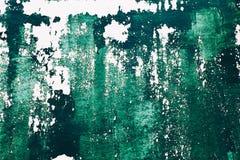 A textura verde velha pintada surge imagem de stock royalty free