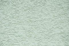 Textura verdosa del estuco Imagen de archivo libre de regalías