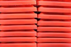 Textura vermelha Fotos de Stock