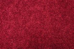 Textura vermelha da folha da espuma do brilho Fotos de Stock