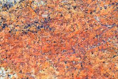 Textura vermelha da rocha Foto de Stock Royalty Free