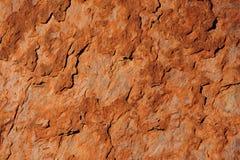 Textura vermelha da rocha Fotos de Stock