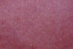 Textura vermelha da tampa de couro velha no livro fotos de stock