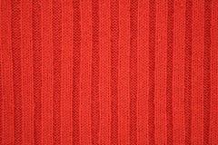 Textura vermelha de Jersey Fotos de Stock