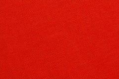Textura vermelha de matéria têxtil Fotos de Stock Royalty Free