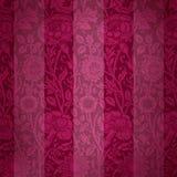 Textura vermelha de veludo Foto de Stock Royalty Free