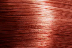Textura vermelha do cabelo Fotografia de Stock Royalty Free