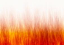 Textura vermelha do fogo da chama nos fundos brancos Fotos de Stock Royalty Free