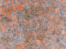 Textura vermelha do granito Imagens de Stock