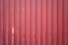 Textura vermelha do recipiente do navio de carga Fotos de Stock