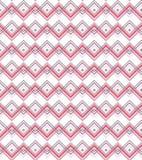 Textura vermelha do teste padrão de mosaico Foto de Stock
