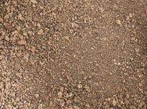 Textura vermelha marrom áspera da terra Fotografia de Stock Royalty Free