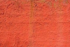 Textura vermelha sem emenda da parede Fotografia de Stock Royalty Free