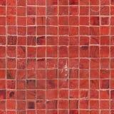 Textura vermelha sem emenda da telha de mosaico imagem de stock royalty free