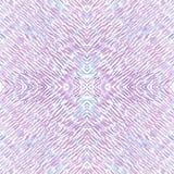 Textura vermelho-azul sem emenda Cursos retos do lápis da cor ilustração do vetor